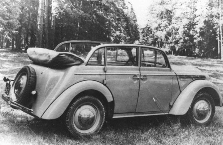 Автомобили СССР. Москвич - 400, (6)