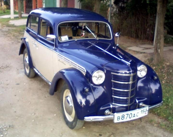 Автомобили СССР. Москвич - 400, (2)