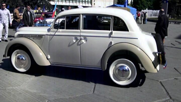 Автомобили СССР. Москвич - 400, (1)