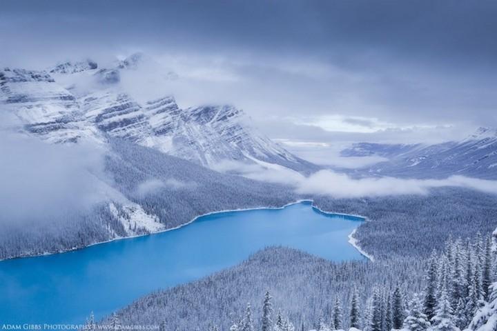 природа, красивые фото природы, фотопейзажи, зима (17)