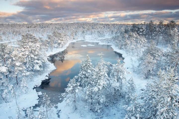 природа, красивые фото природы, фотопейзажи, зима (13)