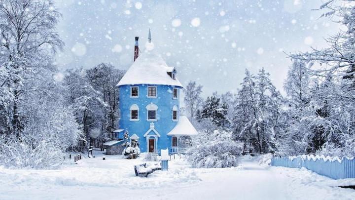 природа, красивые фото природы, фотопейзажи, зима (3)