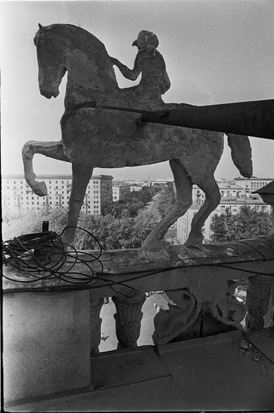 СССР, ностальгия, Москва, ипподром (9)