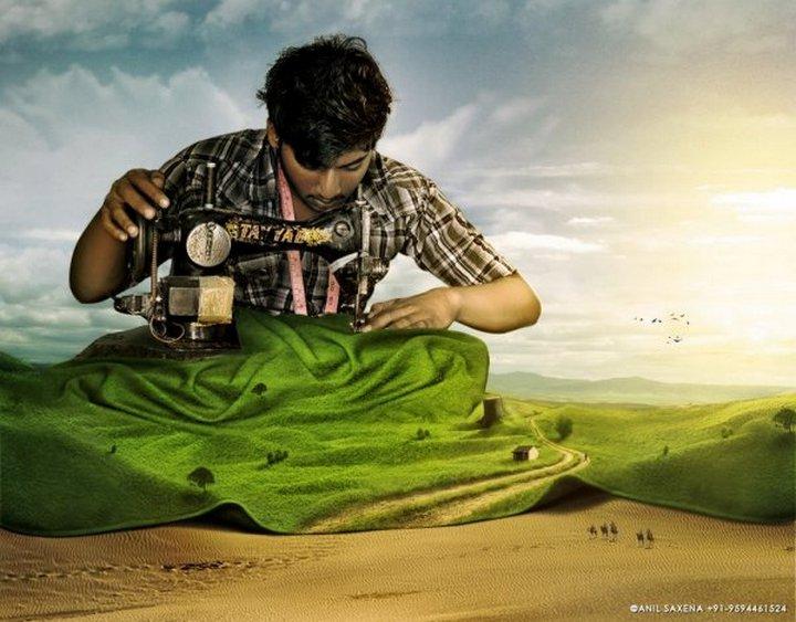 креатив, сюрреалестические фотоманипуляции (5)