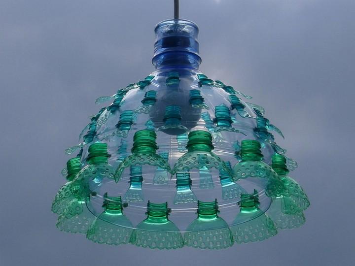 креатив, необычное, скульптуры из пластиковых бутылок (10)