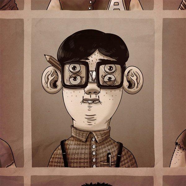 креатив, прикольные иллюстрации (11)