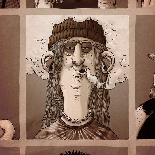 креатив, прикольные иллюстрации (6)
