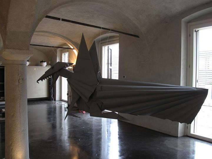 креатив, необычное, скульптуры из бумаги (4)