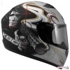 Прикольные мотоциклетные шлемы. (9 фото)