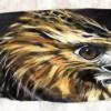 Изумительные рисунки на перьях. (20 фото)