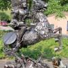 Фото. Скульптуры из авто хлама от Тома Самуи. (7 фото)