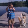 Прикольное фото. На рыбалке.