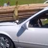 Фото. Женская невнимательность за рулем (5 фото)