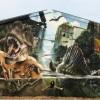 Стрит-арт со всего мира. (23 фото)