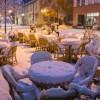 Первые снегопады в Европе. (14 фото)