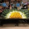 Красочные овощные мозаики. (12 фото)