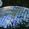 Фото. Листья кувшинки от Bruce Monro из CD дисков.  (5 фото)