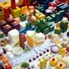 Фото. Городская архитектура из еды от Petter Johansson. (4 фото)