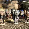Причудливые скульптуры из арахиса от Стив Casino. (9 фото)