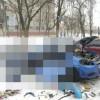 Взрыв баллона с метаном в машине. (7 фото)