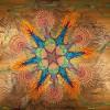 Красочные картины из песка от Joe Mangrum. (7 фото)