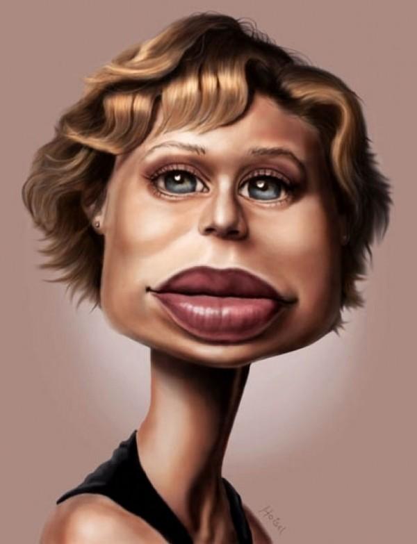 Лица прикольные рисунки