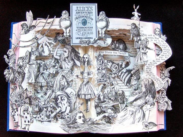 Удивительные коллажи из книг от Kelly Campbell Berry. (4)