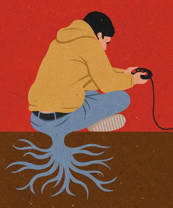 Иллюстрации от Джона Holcroft (12)