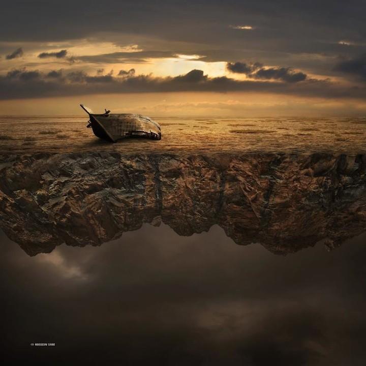 Сюрреалестические миры от Хоссейн Заре, (7)
