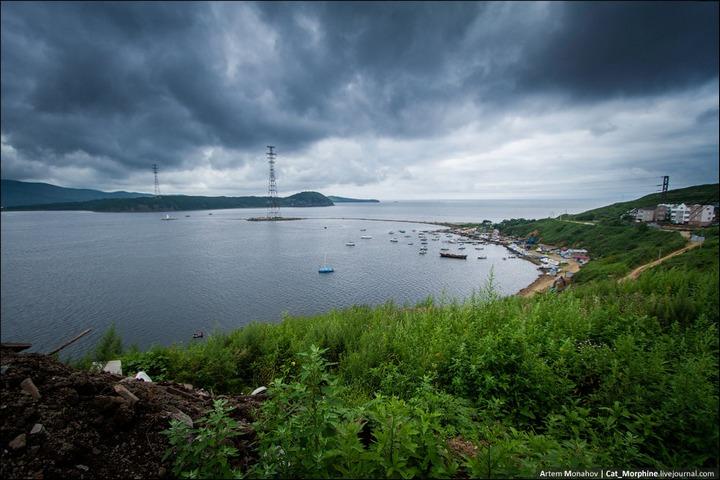 Восхождение на вантовый мост во Владивостоке (12)