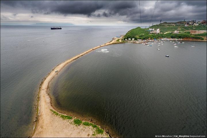 Восхождение на вантовый мост во Владивостоке (24)