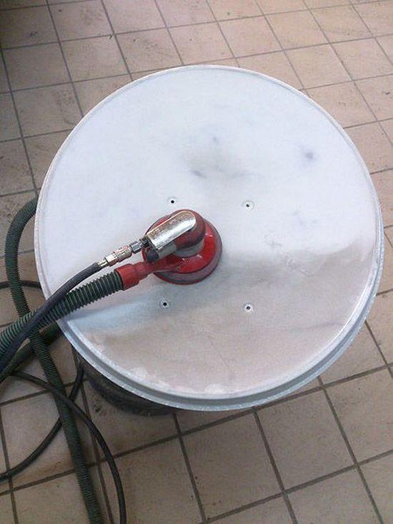 Фото. Летняя покраска спутниковой тарелки (2)