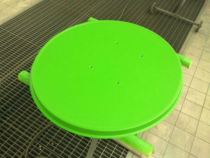 Фото. Летняя покраска спутниковой тарелки (3)