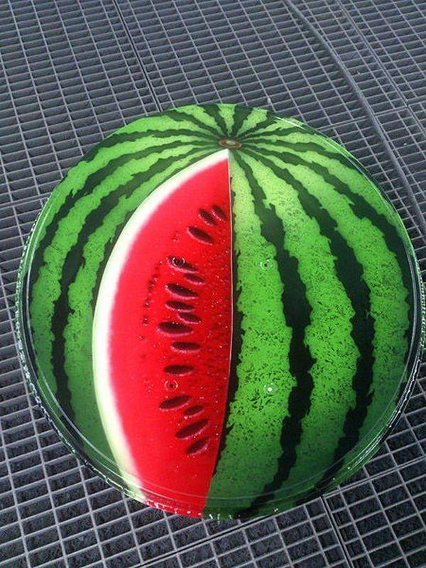 Фото. Летняя покраска спутниковой тарелки (5)
