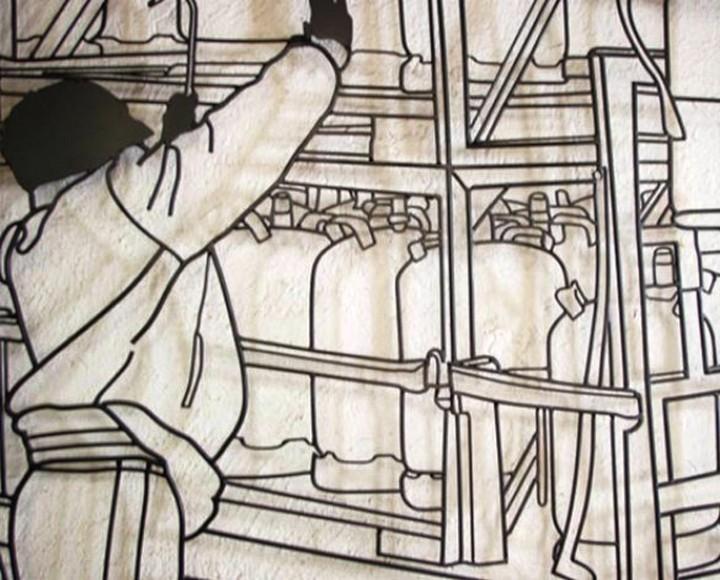 Креатив. Скульптуры из проволоки (13)