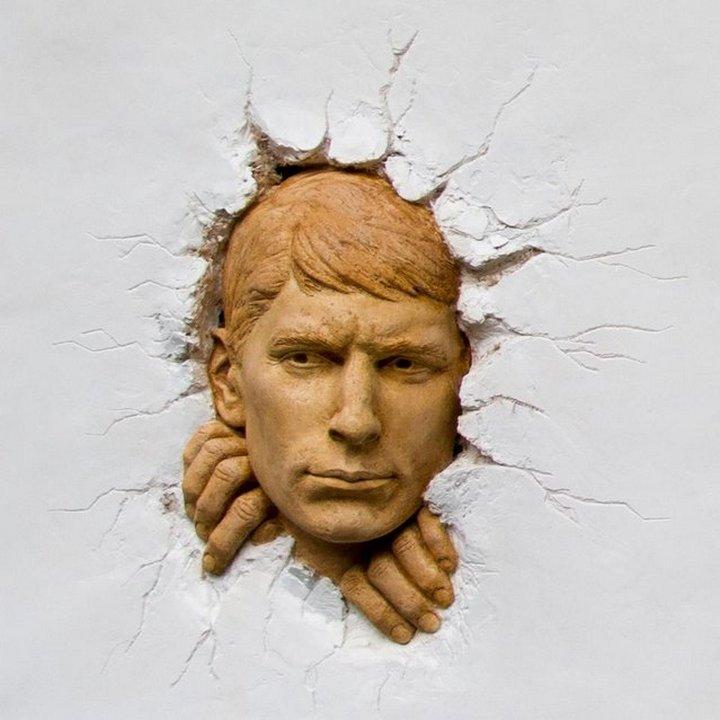 Сюрреалистические скульптуры (5)