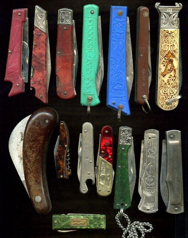 фото, ностальгия, СССР, перочинные ножи (1)