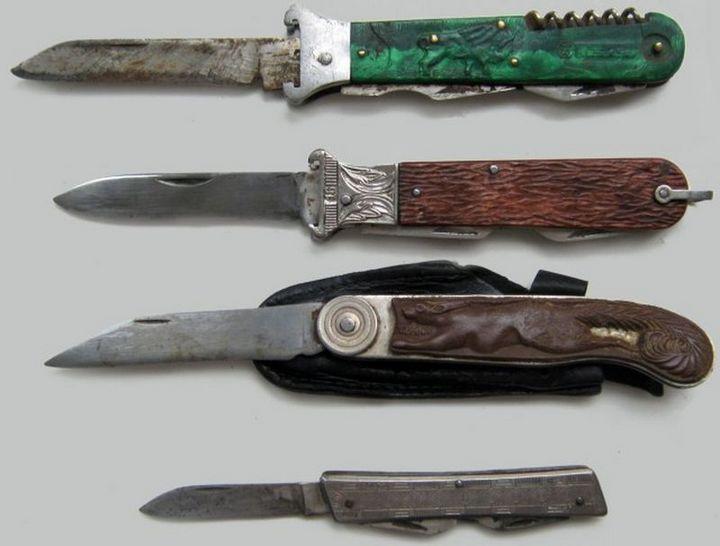фото, ностальгия, СССР, перочинные ножи (2)