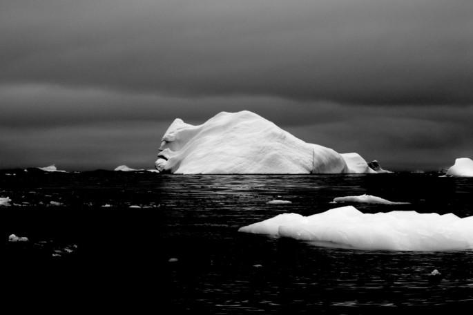Айсберг похожий на голову человека (1)
