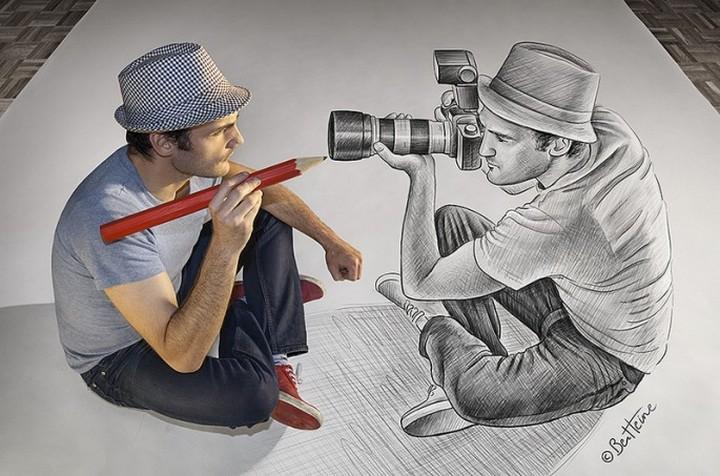 фото, креатив, необычное, 3d рисунки (10)