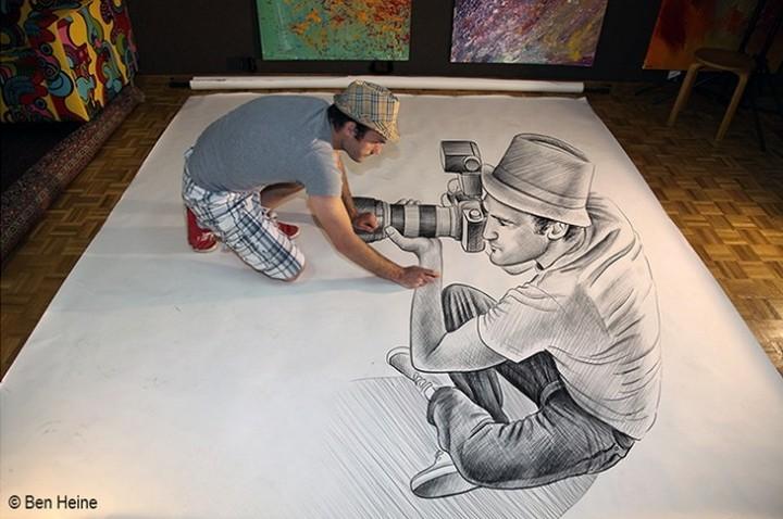 фото, креатив, необычное, 3d рисунки (9)