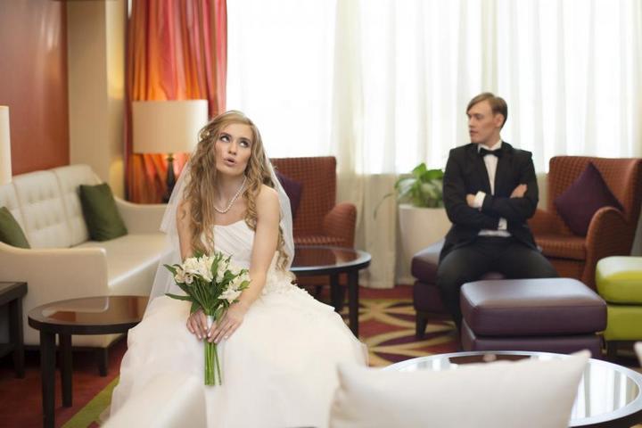 Свадебная съемка в отельном номере – идеальный вариант. (2)