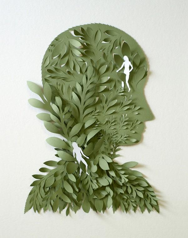 фото, креатив, скульптуры из бумаги (2)