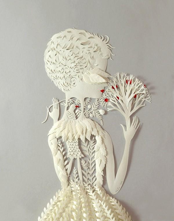 фото, креатив, скульптуры из бумаги (4)