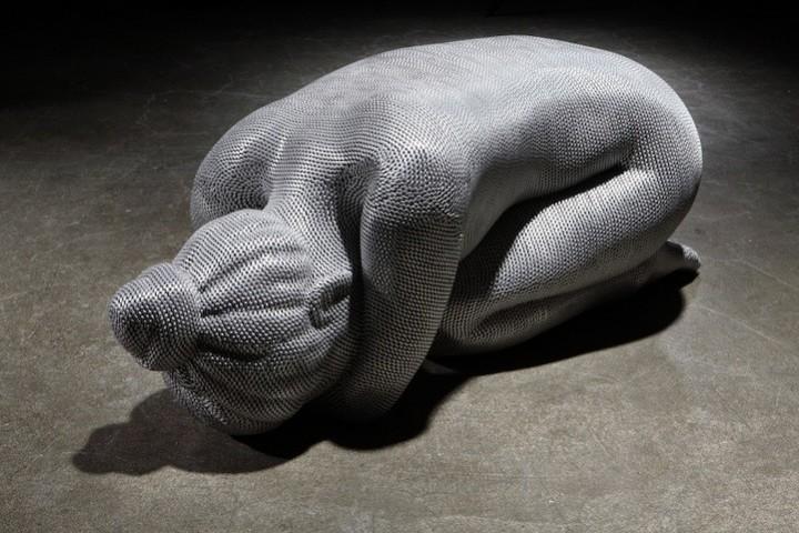 фото, креатив, необычные скульптуры из проволоки (12)