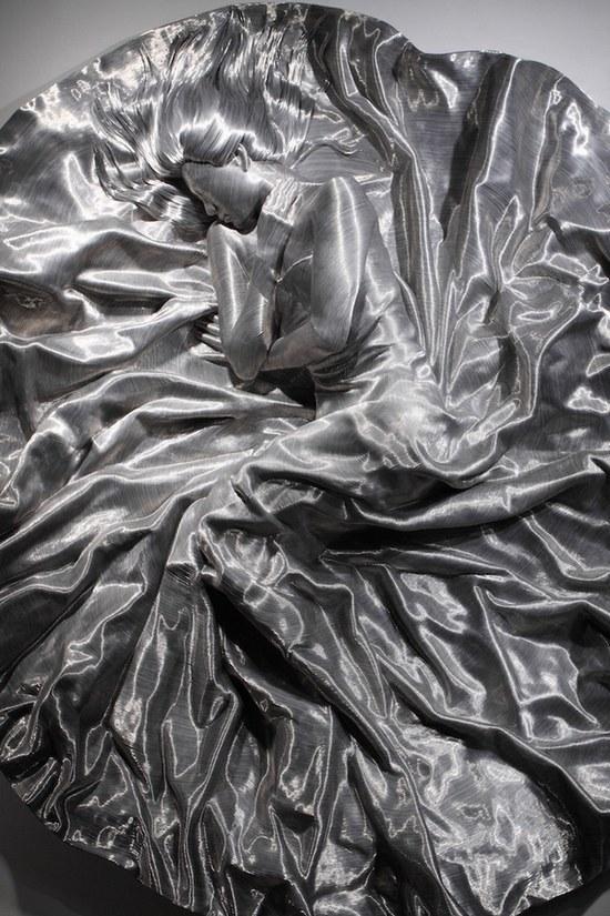 фото, креатив, необычные скульптуры из проволоки (3)