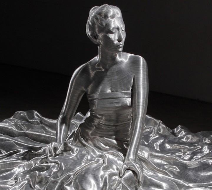 фото, креатив, необычные скульптуры из проволоки (4)