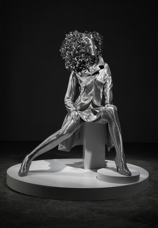 фото, креатив, необычные скульптуры из проволоки (5)