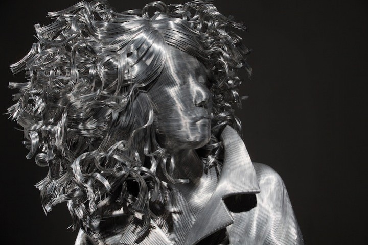 фото, креатив, необычные скульптуры из проволоки (6)