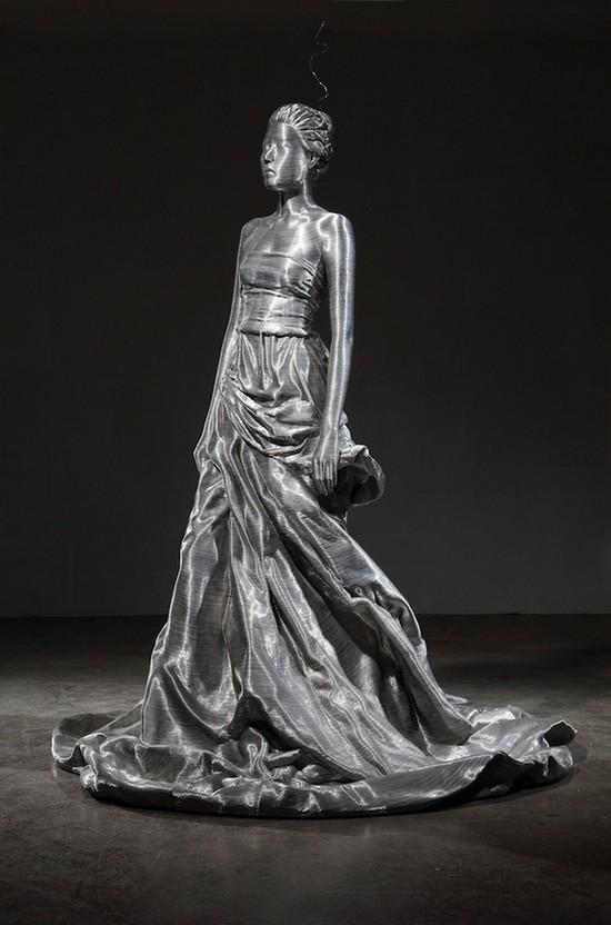 фото, креатив, необычные скульптуры из проволоки (7)